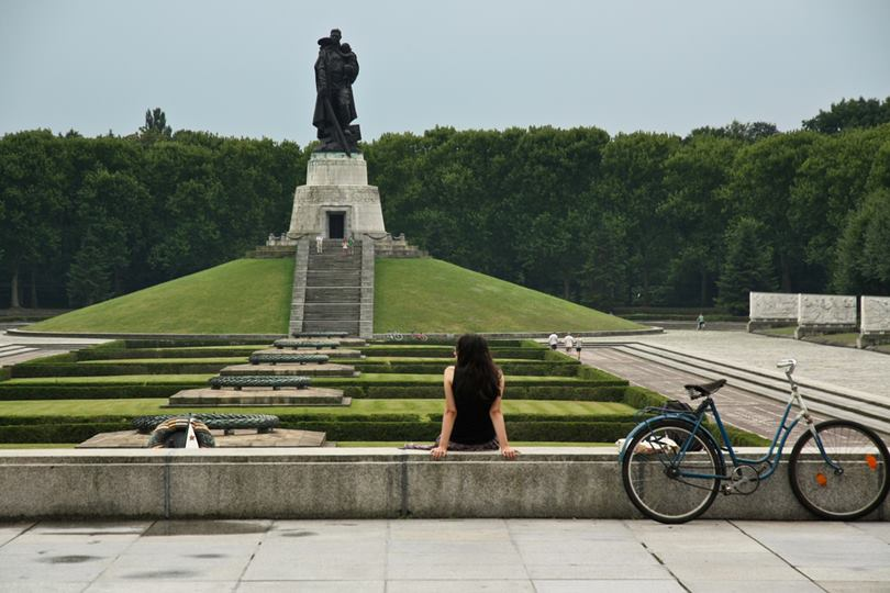 Soviet War Memorial in Treptower Park, Berlin