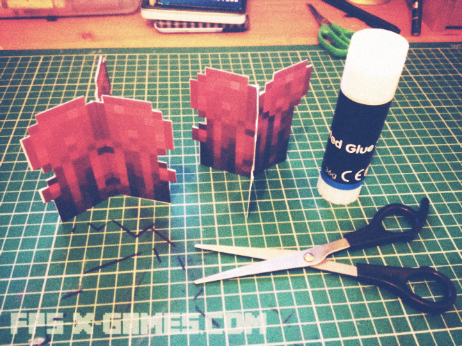 printable papercraft nether wart