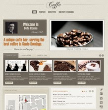 Coffe - Joomla Template GavickPro