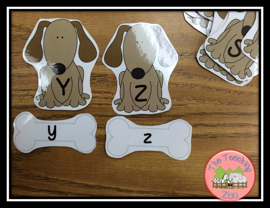 http://www.teacherspayteachers.com/Product/Give-a-Dog-a-Bone-Alphabet-Uppercase-Lowercase-Matching-A-to-Z-1325008