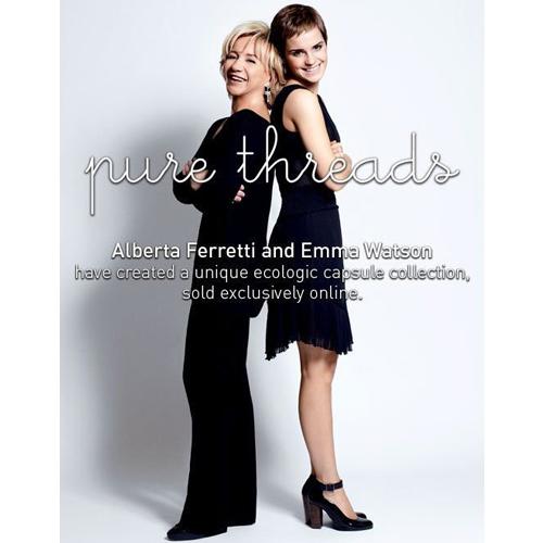 colección primavera-verano 2011 Emma Watson y Alberta Ferretti