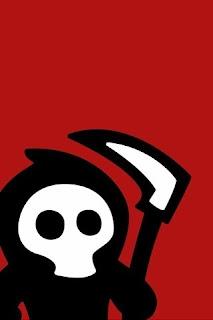 little grim reaper iPhone 4 Wallpapers