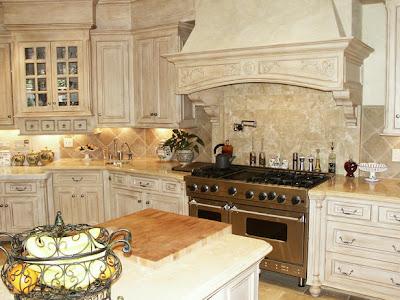 Modern Furniture Old World Kitchen Design With Neutral Color