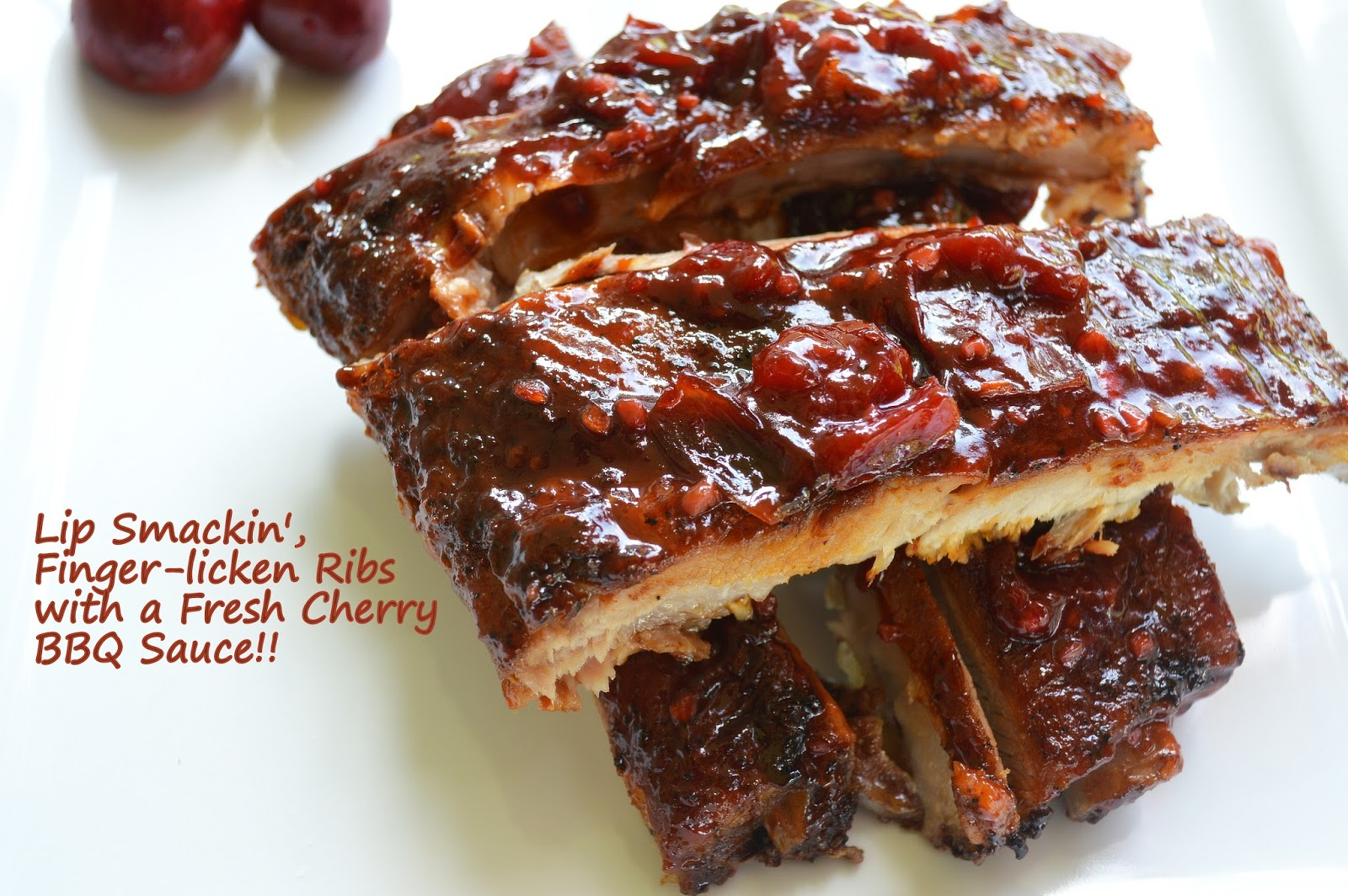Grilled Ribs With Cherry Cola Barbecue Sauce Recipes — Dishmaps