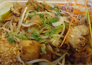 Tofu pad thai