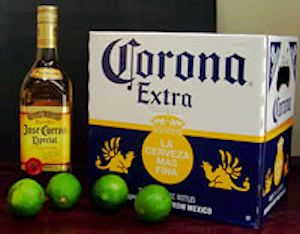 Corona and Cuervo for Cinco