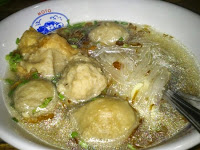 "Kuliner Bakso Solo ""Rindu Malam"" Surabaya"