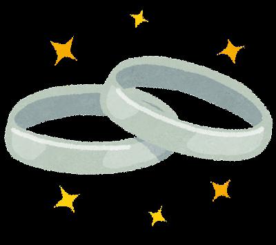 ペアリング・結婚指輪のイラスト
