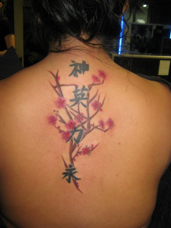 The Sexy Cherry Blossom Tree Tattoos for Women