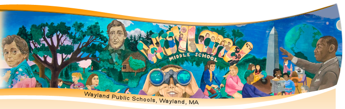 Wayland MS Mural