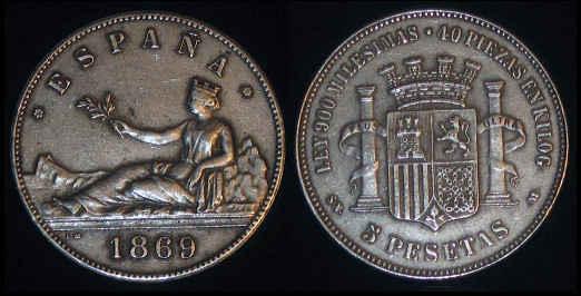 Peseta de plata
