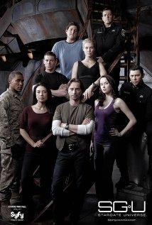 Cartel promocional de Stargate Universe