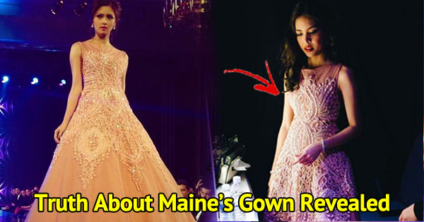 Fashion Designer Released Statement About Kim Chui-Maine Mendoza Recycled Gown Issue!