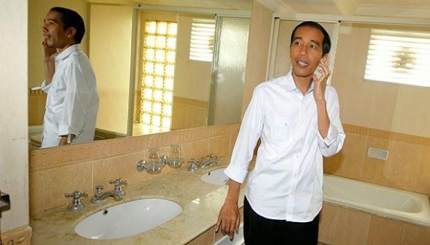 kamar mandi rumah dinas jokowi