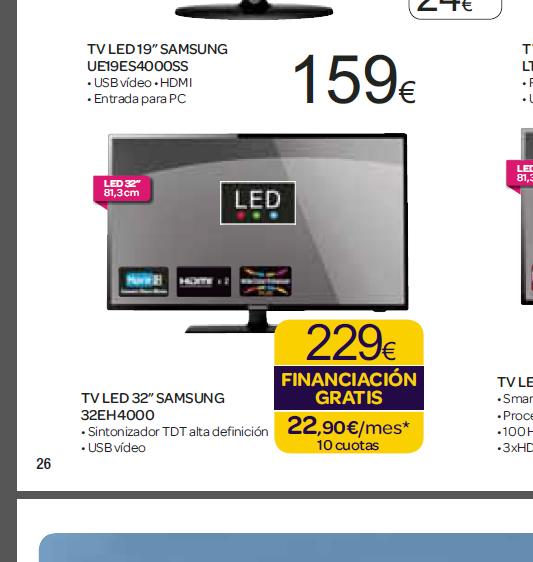 Harto de carrefour tv samsung 32 por 229 m s barato for Tv plasma carrefour