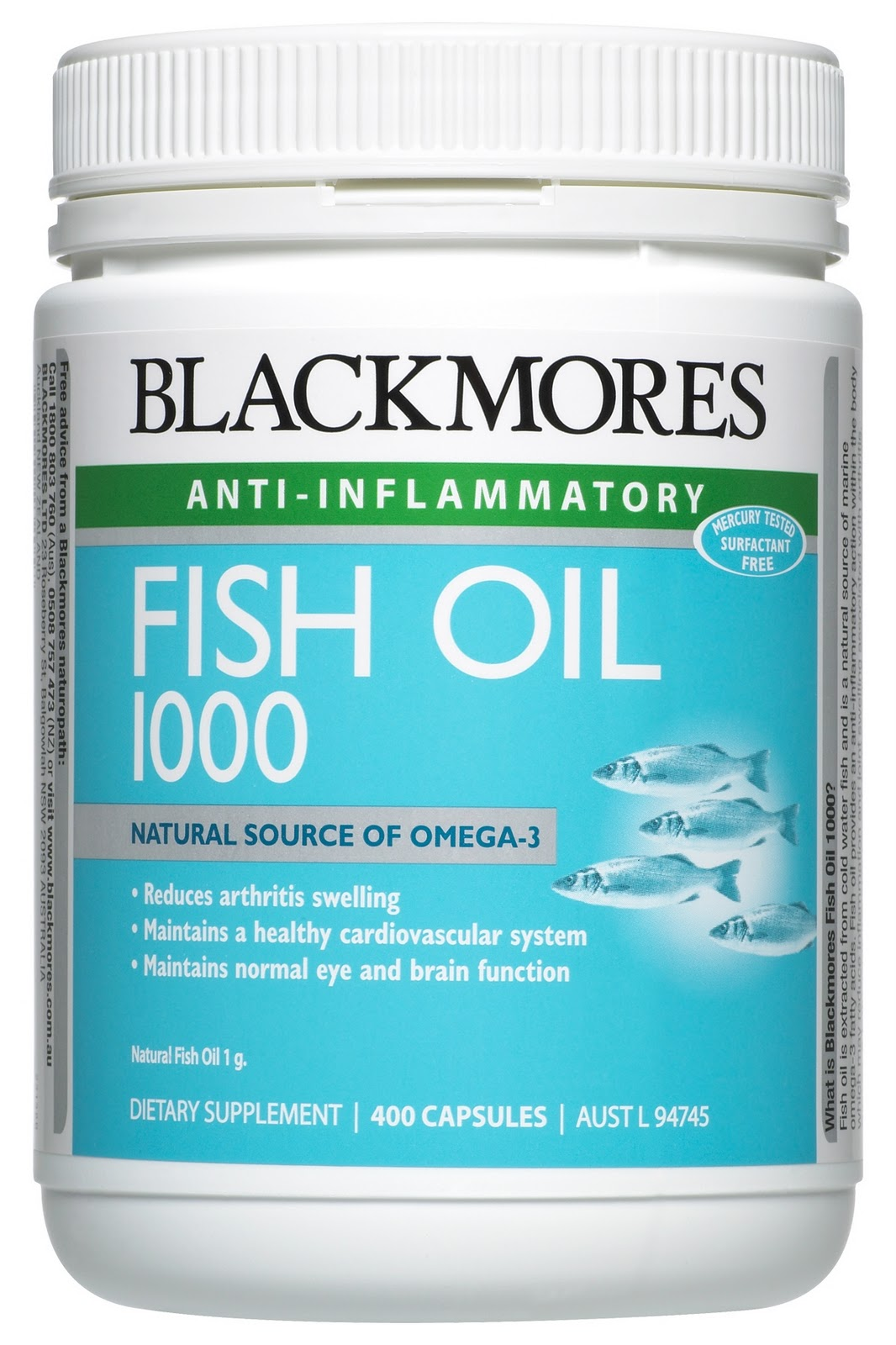 Blackmores fish oil 1000 and evening primrose oil for Is fish oil bad for you