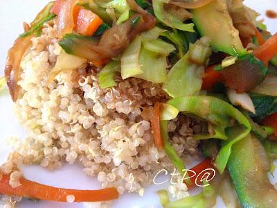 quinoa vegetale ricetta unica zucchine