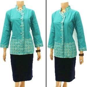 Foto Baju Batik Dinas Perempuan