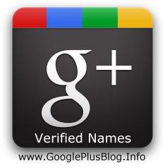 Google Plus Verified Names