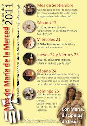 Mes de Maria de la Merced