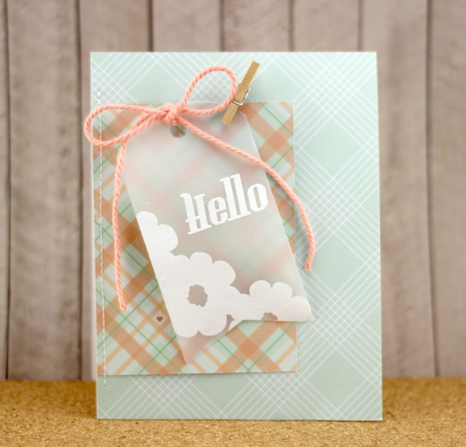 Amy Tsuruta Chickaniddy Date Night Hello Card