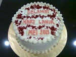 "Red Velvet Cake available in round shape 9"" & 7"""