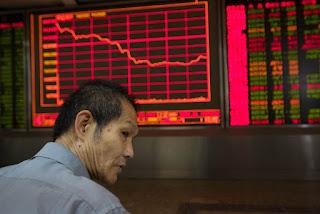 Chinese market 30% plunge