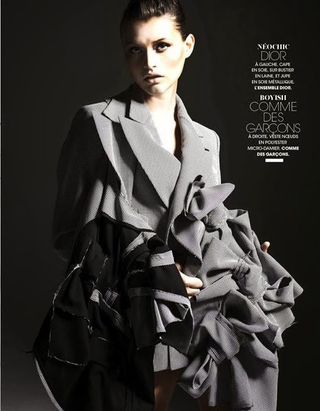 Comme des Garcons 2013 AW Gray Ribbons Blazer