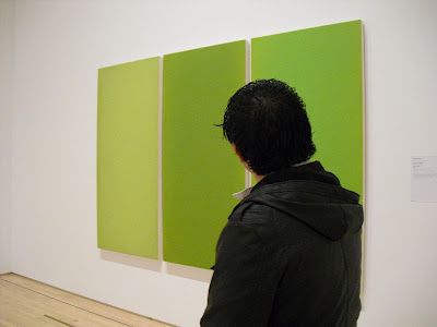 Admiring Art at SF MOMA