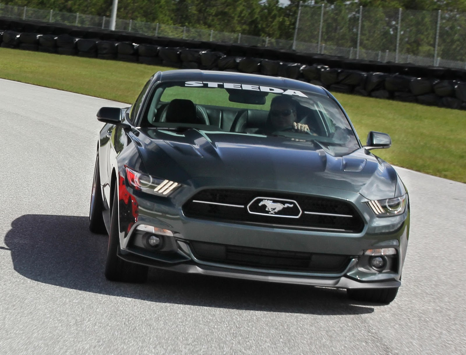 steeda prepares a flurry of 2015 ford mustang s550 tuning. Black Bedroom Furniture Sets. Home Design Ideas