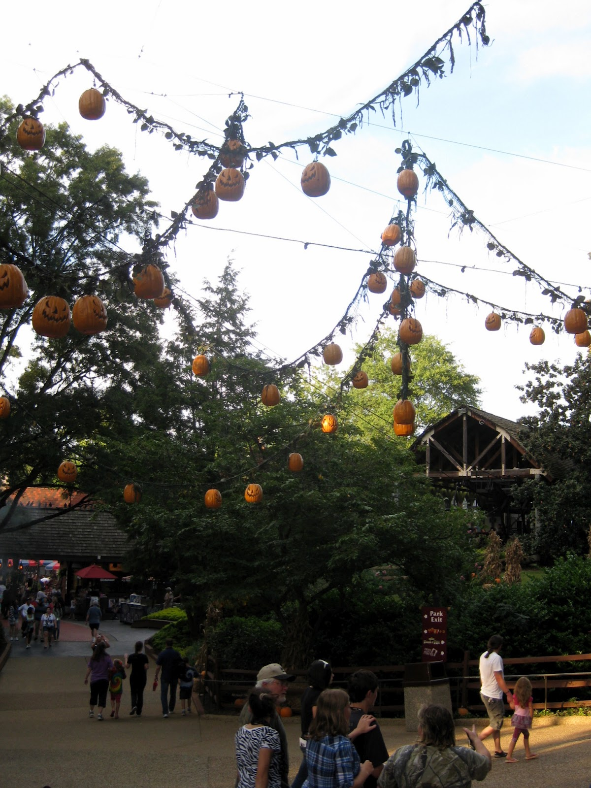 Cassie stephens weekend adventure wicked in williamsburg - Busch gardens williamsburg halloween ...