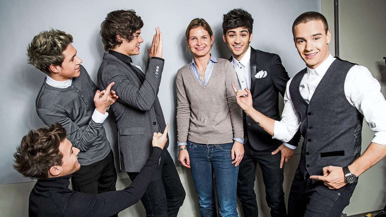 images of One Direction Bambi Photoshoot