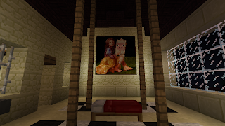 minecraft home bedroom