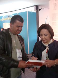 DIRETOR PRESIDENTE DA AAPNE  ANTONIO FURTADO COM A SECRETARIA DE ESTADO DE SP DRa.LINAMARA RIZZO .