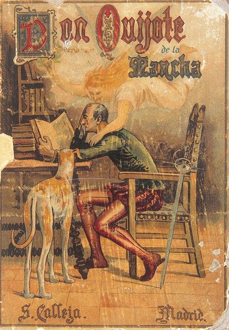 Portada de Don Quijote de la Mancha de Editorial Saturnino Calleja