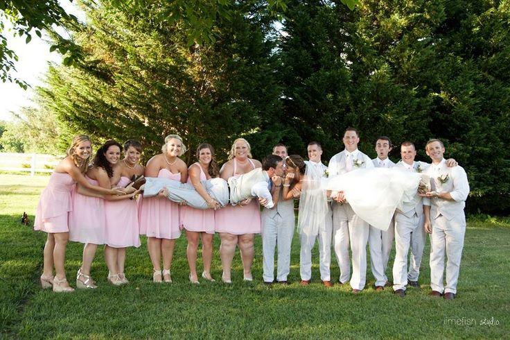 фотосессия с друзьями на свадьбе