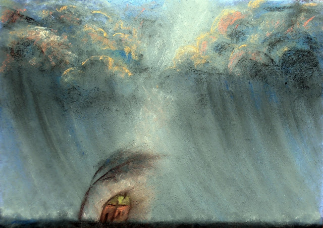 пастель буря