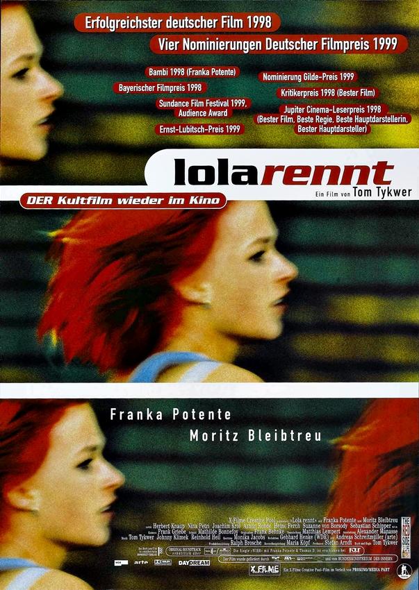 Póster Corre Lola Corre