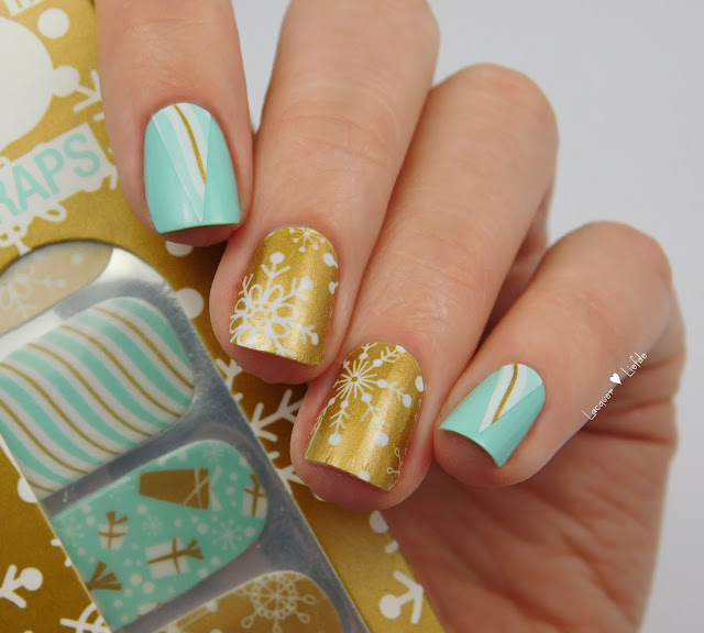 Thumbs Up - Snow Flake Nail Wraps