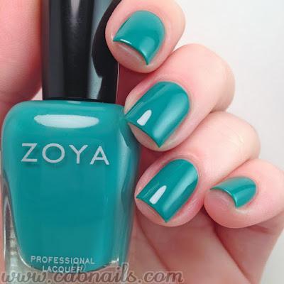 Zoya Cecilia Swatch