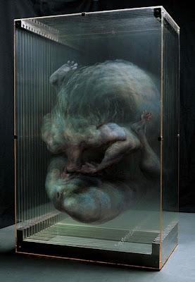 Pinturas 3D sobre vidrio