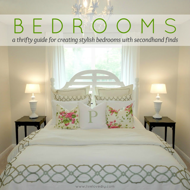 decorating ideas for a small bedroom on a budget. get inspired
