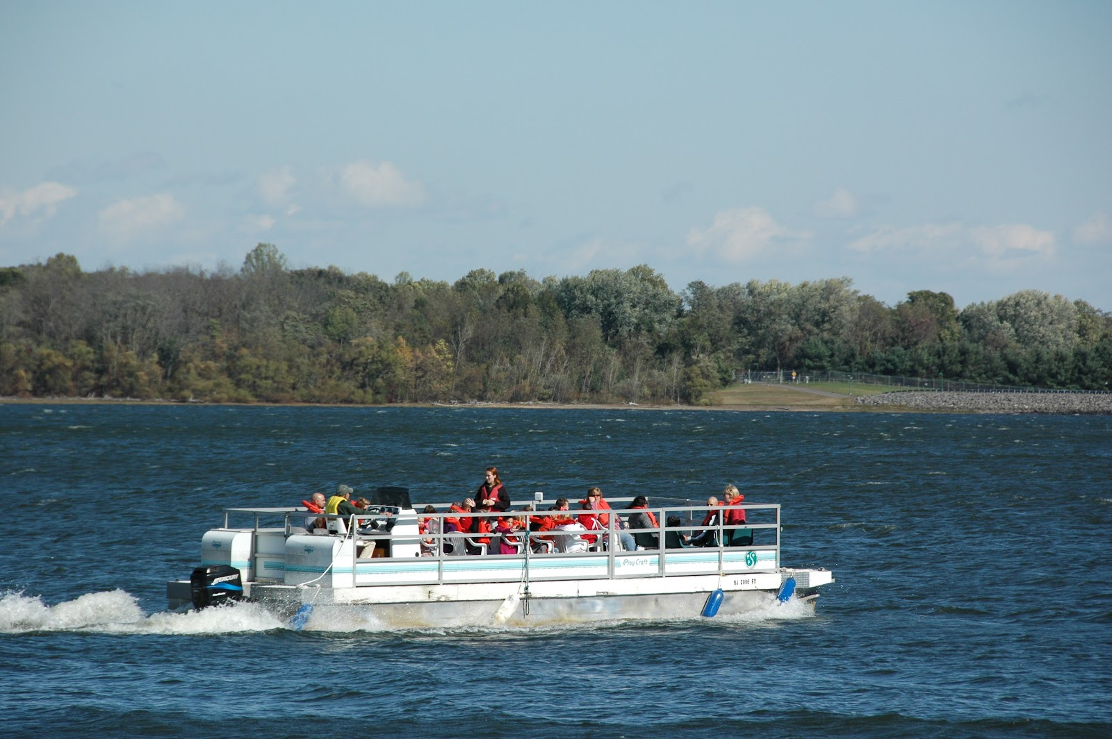 Boat Tours on the Manasquan Reservoir
