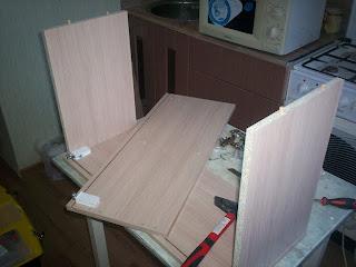 сборка навесных шкафов
