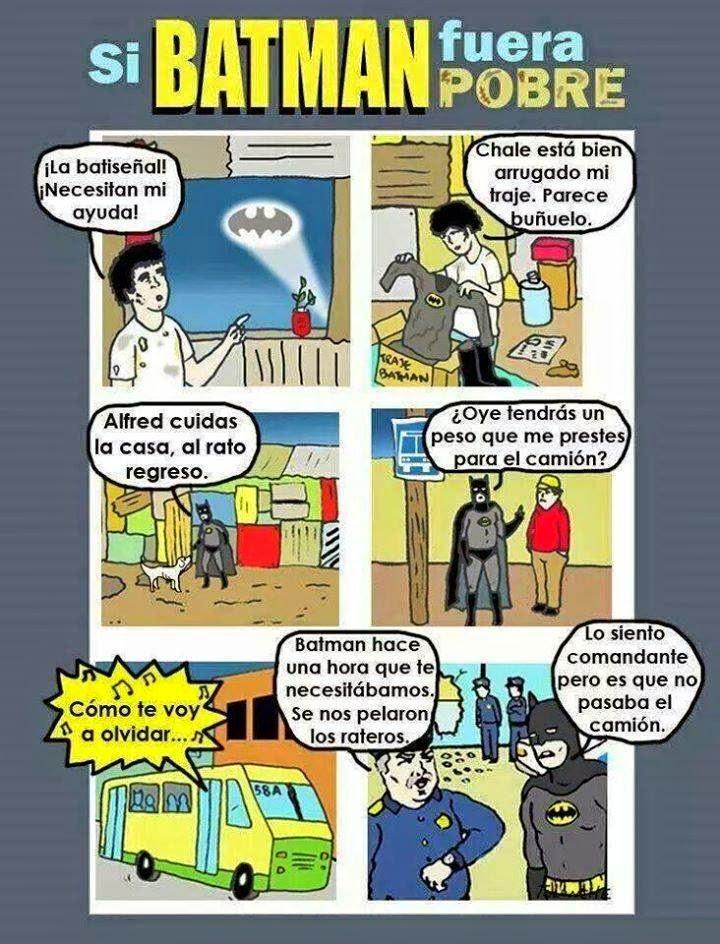 Un Batman pobre