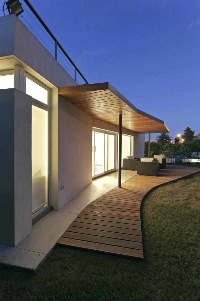 ide interior desain rumah bentuk v