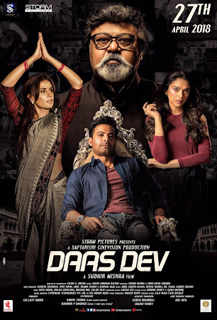 Poster Of Hindi Movie Daas Dev 2018 Full HD Movie Free Download 720P Watch Online