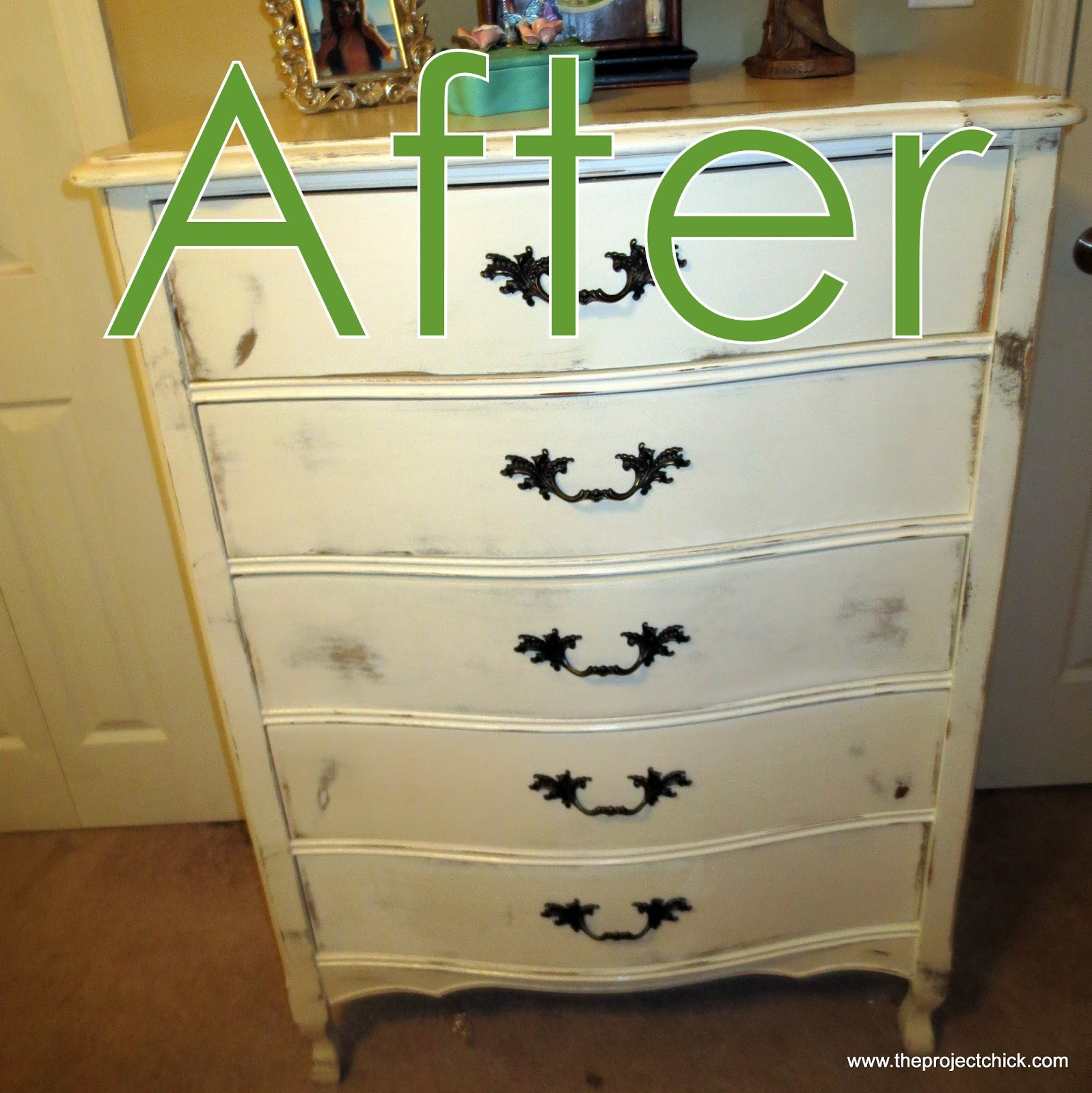 the project refinishing our bedroom furniture