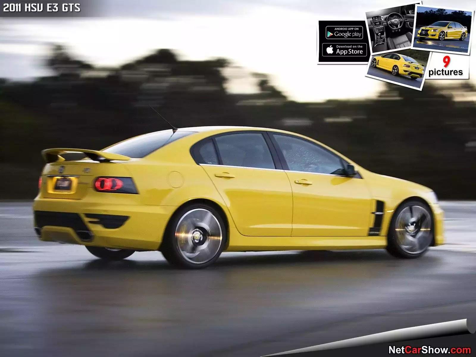 Hình ảnh xe ô tô HSV E3 GTS 2011 & nội ngoại thất