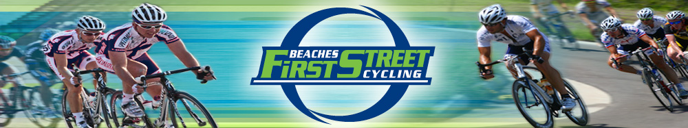 Beaches First Street Cycling